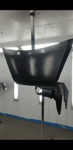 Michael G - hood painted black under coat