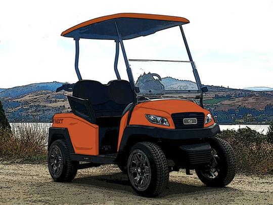 Sunset Orange for Sunset Ranch