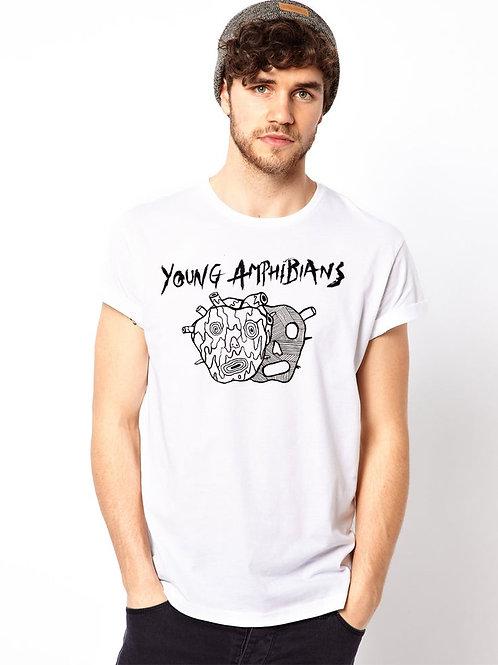 Young Amphibians - Junked Up Heart T-Shirt