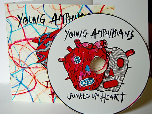 Young Amphibians - Junked Up Heart CD