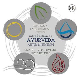 Ayurvedic Workshop