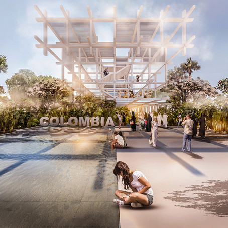 """""""El ritmo que conecta el futuro"""" Pabellón de Colombia en Expo Dubái 2020"""