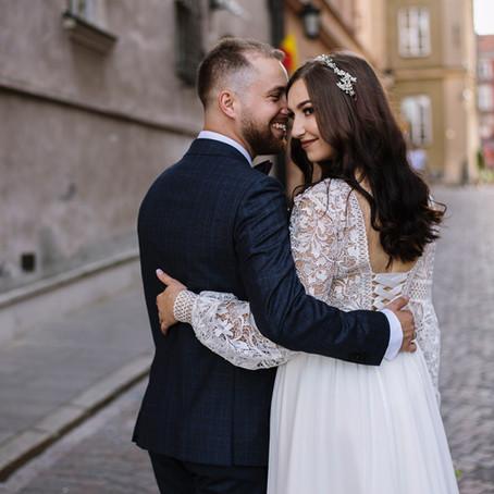 Anhelina & Paweł - sesja ślubna