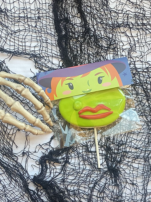 Witch Funny Face Cookie!