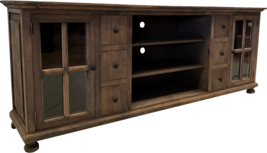 Kristen TV Console w/French Doors