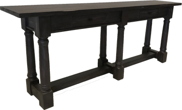 Country French Console Table