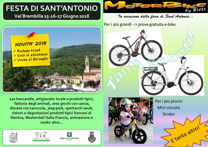 Festa S. Antonio 16-17 Giugno 2018