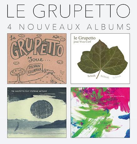 Le Grupetto Joue 4 Albums