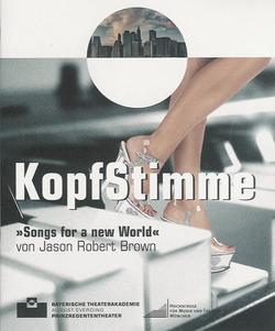 KOPFSTIMME - Regie