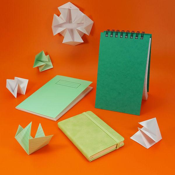 Green Notebooks Spotlight