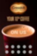 Cresskill Bagel Cafe FREE coffee coupon