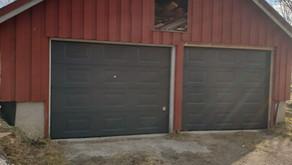 Garasjeporter på Namdalseid