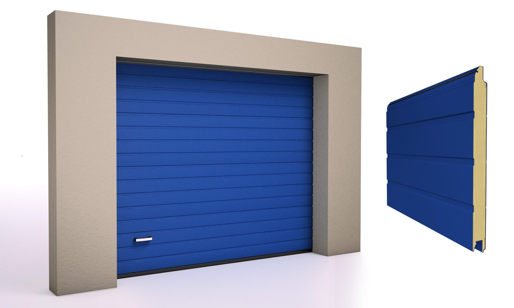 Blå 5010
