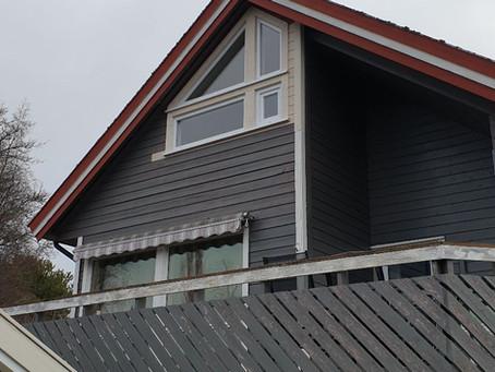 Nye vinduer levert og montert