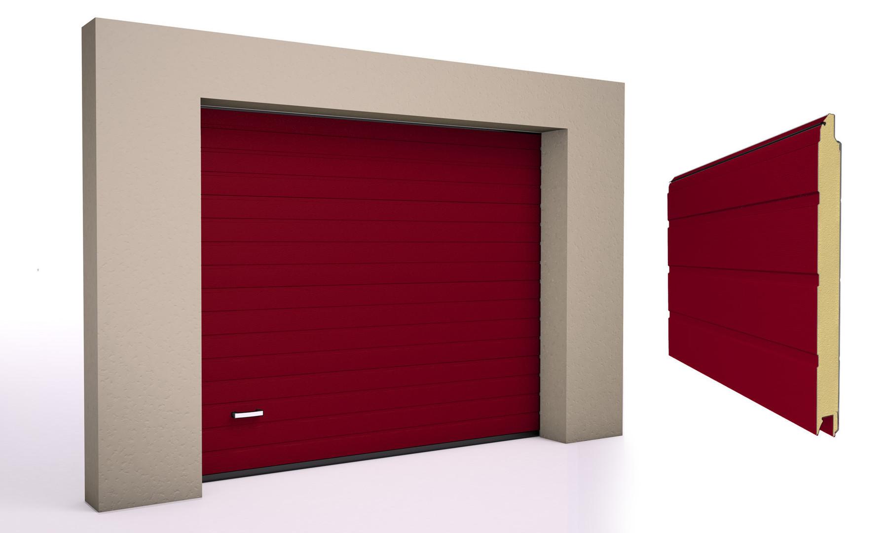 Rød 3004