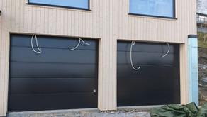 Moderne garasjeporter - Inderøy