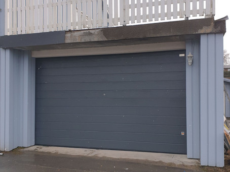 Garasjeport på Snåsa