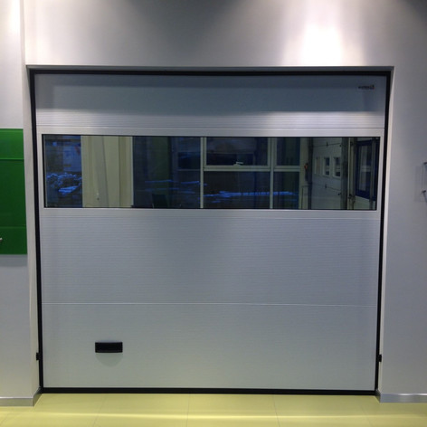 R-panel med panoramafelt - 9006 Silver