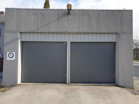 Nye garasjeporter i Torggata