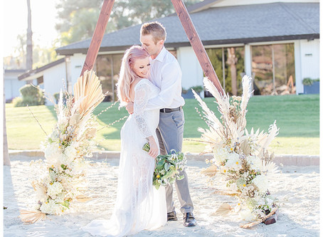 Brittany and Nick Elopement at the Lake House Hotel and Resort in San Marcos
