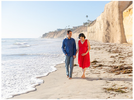 Maternity Session at Fletcher's Cove and San Dieguito Park