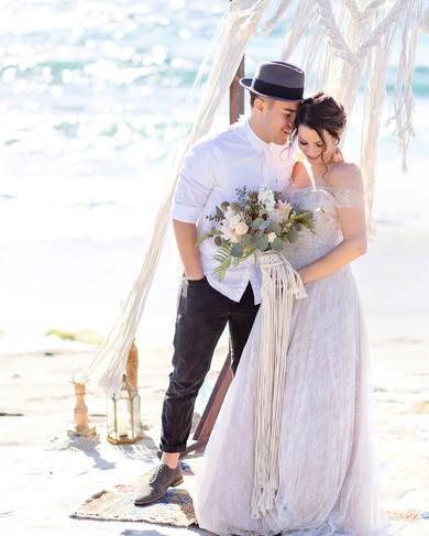 Wedding photography at Windansea Beach San