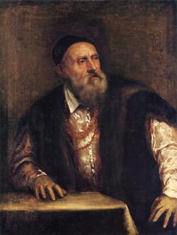 Self portrait of Titian