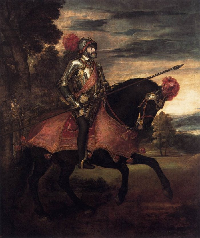 Equestrian Portrait of Charles V