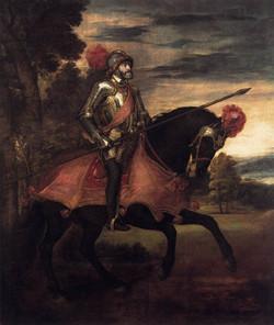 Equestrian Portrait of Charles V