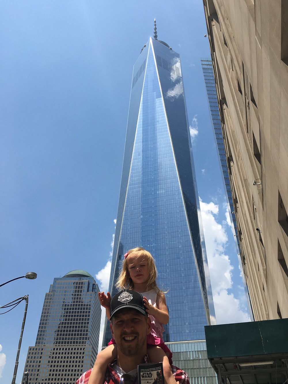 Daddy - Daughter at One World Trade, 2016