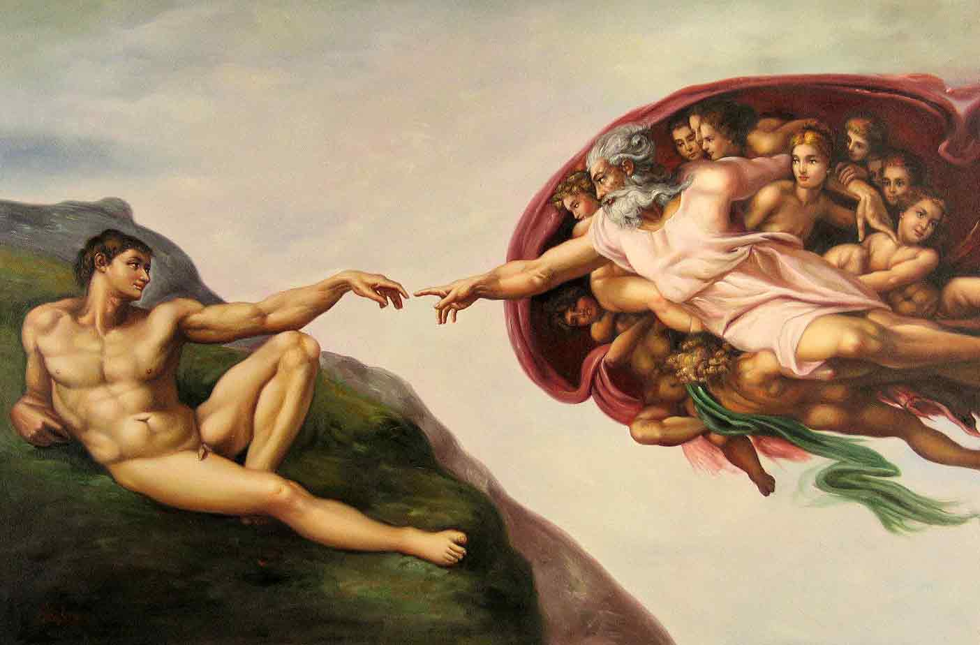 The Creation of Adam: Sistine Chapel