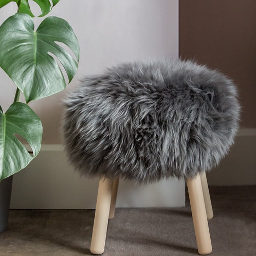 The 'Sheepo' Sheepskin Stool