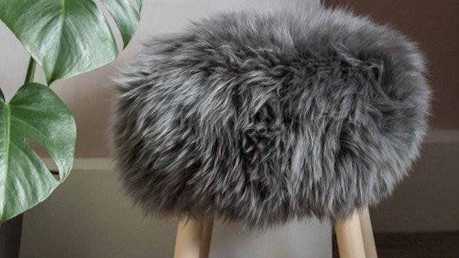The 'Sheepo' Sheepskin Stool