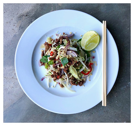 Hot & Spicy Thai Crispy Beef Salad