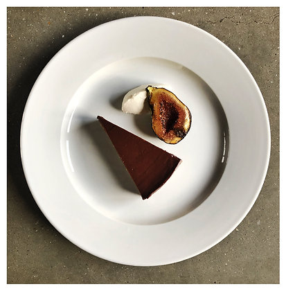 Rich chocolate St emillion tart