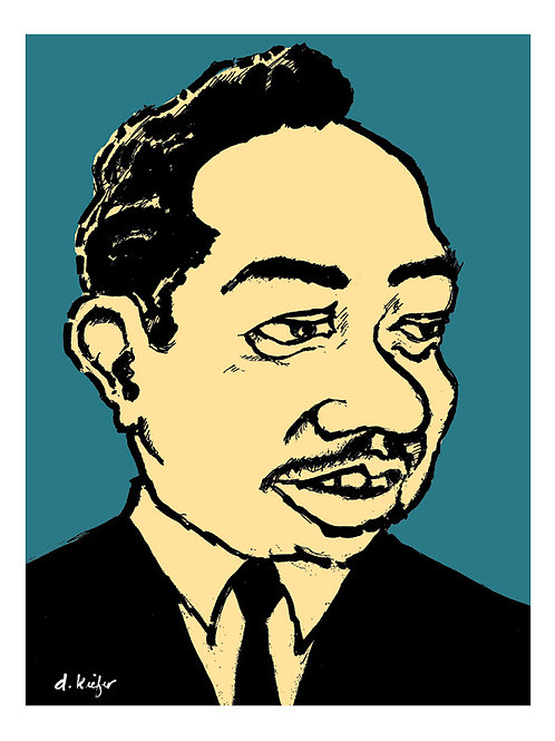 Otis Spann Art Print