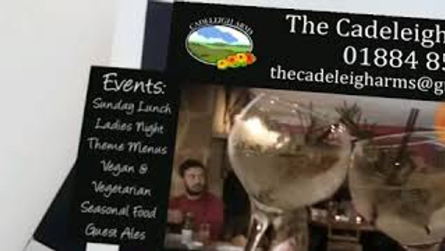 Cadeleigh Arms AR Advert