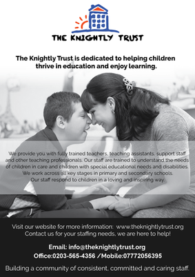 The Knightly Trust Flyer