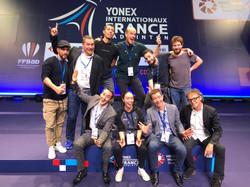 Equipe d'animation Yonex IFB