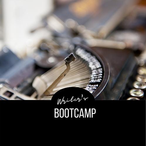 September Writer's Bootcamp