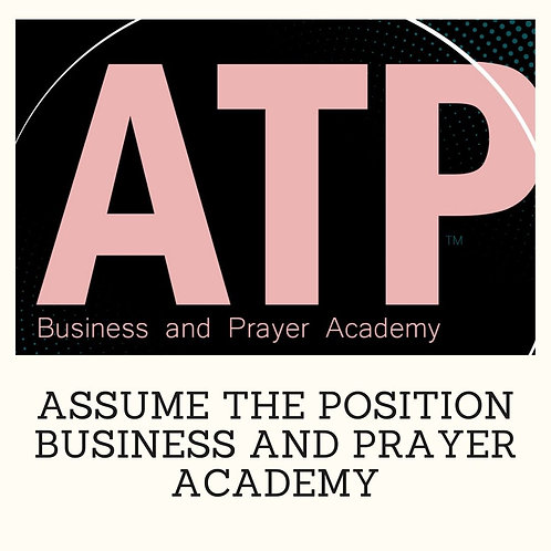 ATP Business and Prayer Academy Masterclass