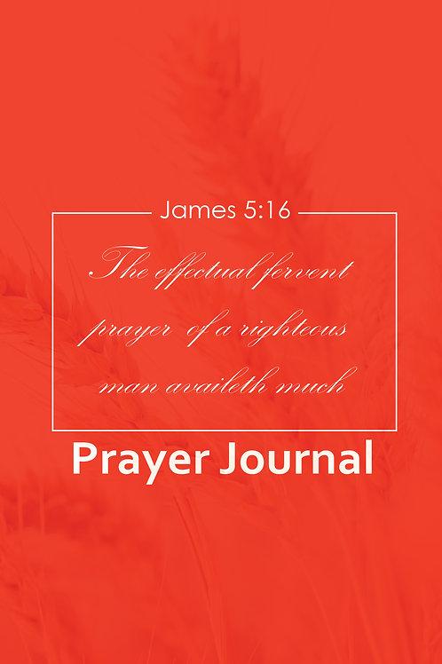 PRAYER JOURNAL - Building a Spiritual Legacy