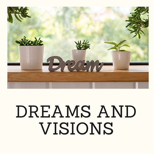 Dreams and Visions Masterclass