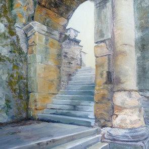 Into the Light Roman Ruins