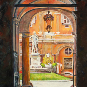 Verona Courtyard