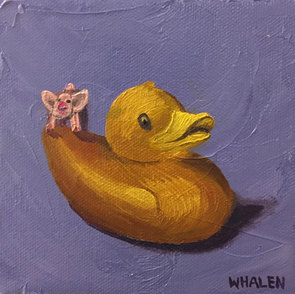 Rubber Duck with Pig