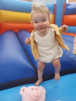 Baby bouncy Holly.jpg