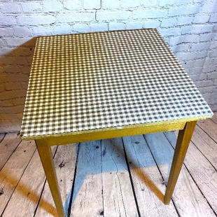 Formica Topped Retro Extendable Table