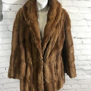 Vintage 3/4 Length Fur Coat