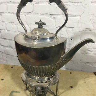 Silver Plated Teapot with Warmer